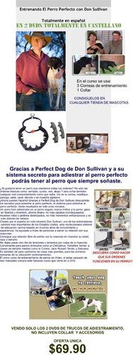 don sullivan el perro perfecto 2 dvd adiestramiento-imperdib