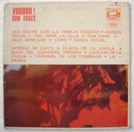 don tracy / voodoo ! 1 disco lp vinilo