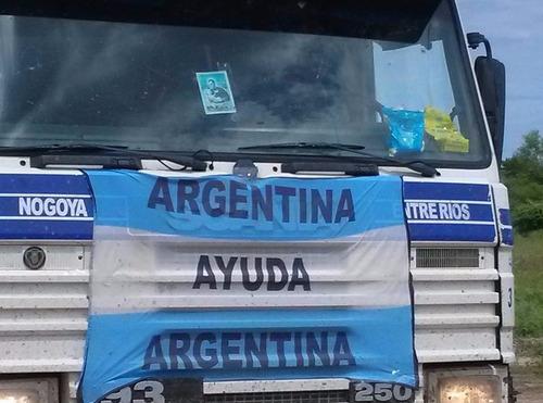 doná 5 litros de combustible | argentina ayuda ong