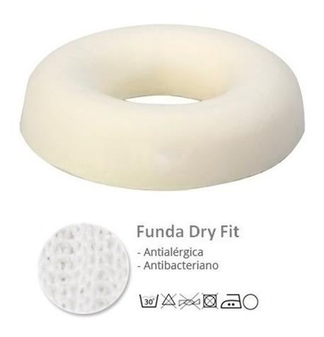 dona aro almohadon circular anti escaras funda dry fit