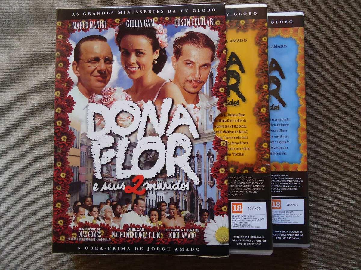 Dona Flor E Seus 2 Maridos Minisserie Completa Globo R 120 00