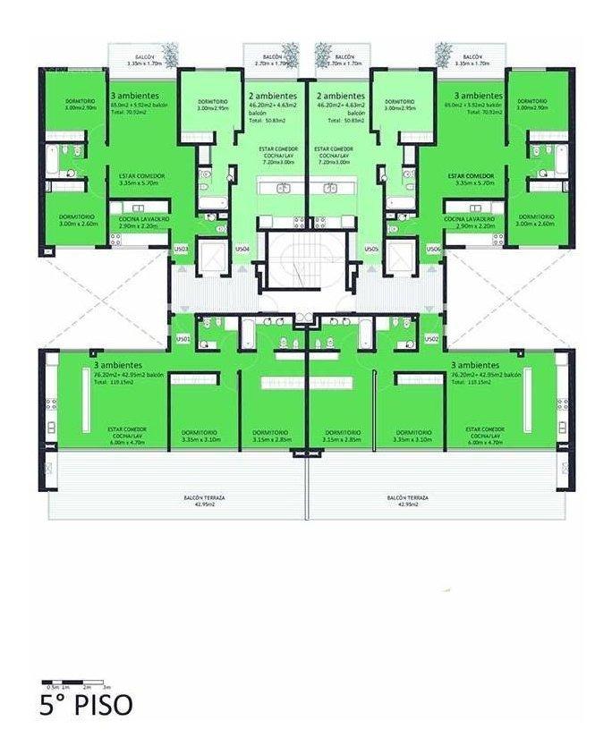 donado 1900 - edificio de categoría verdesaires ii