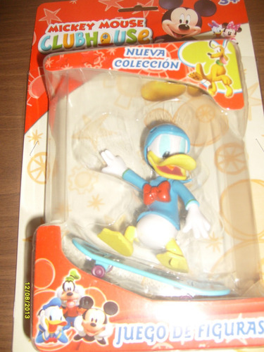 donald en patineta - club house mickey mouse - valmada shop