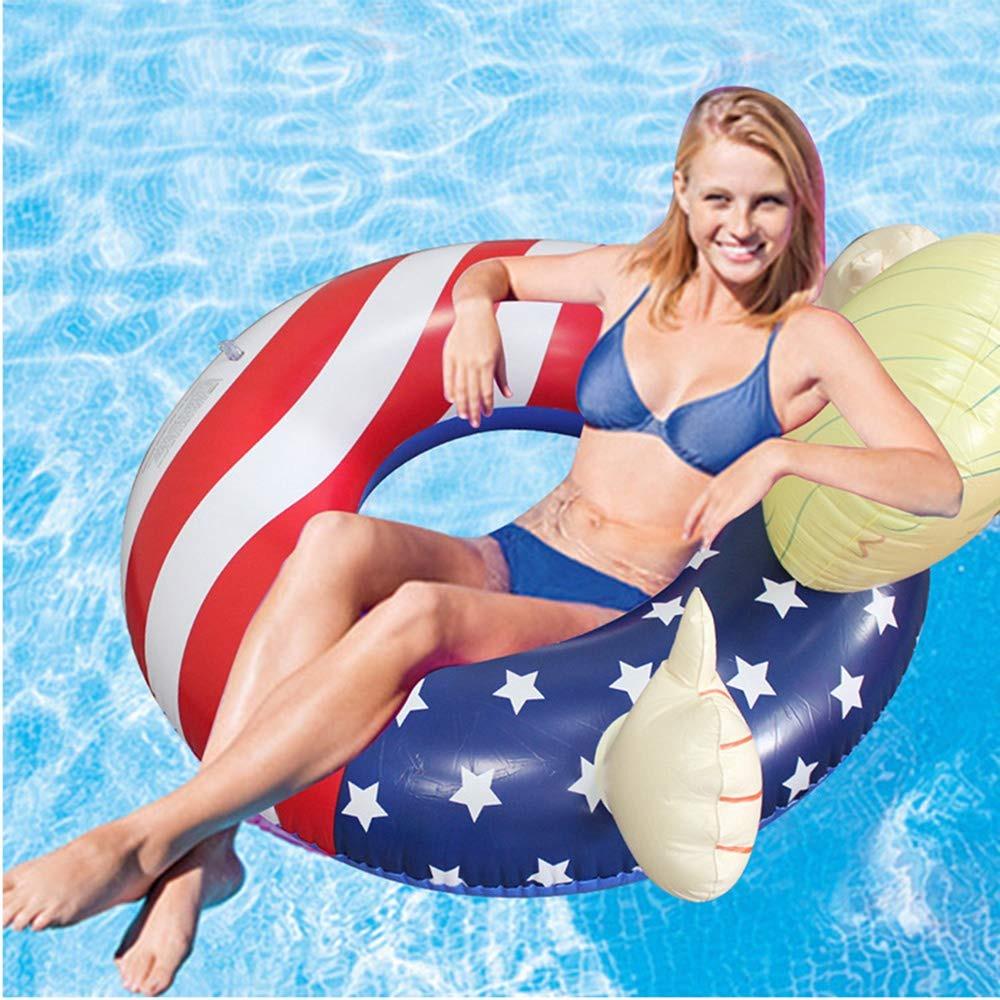 4219f214663c Donald Trump Inflable Piscina Flotadores Juguetes Bandera