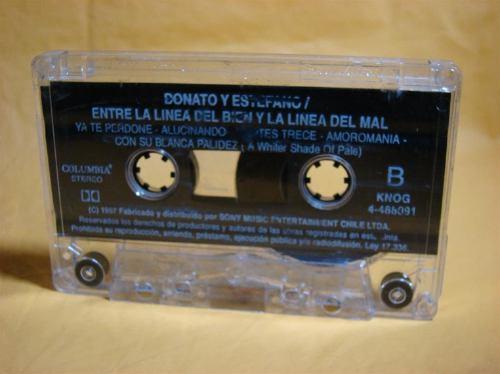 donato y estefano entre la linea del bien y...cassette 1997