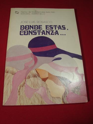 Donde Estas Constanza. Jose Luis Rosasco - $ 5.000 en ... - photo#1