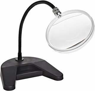 donegan 204-d flex-a-mag, 2 aumentos, 4 lentes redondas, 1