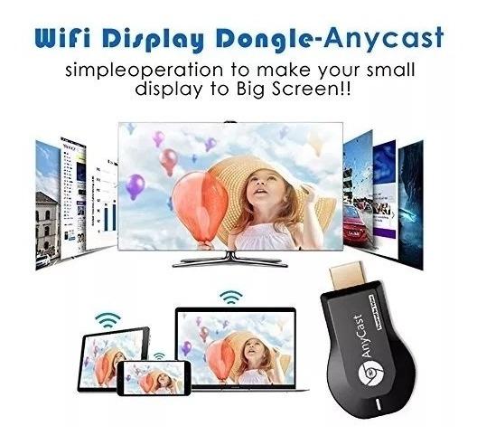 Dongle Anycast M4 Plus Receptor Multimedia Tv Hdmi 1080 Wifi