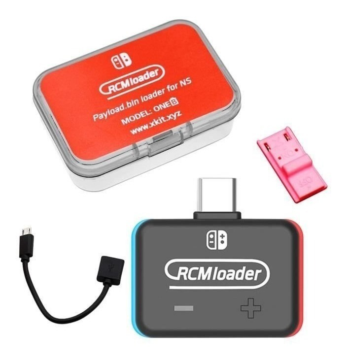 Dongle Rcm Jig Nintendo Switch Rcmloader Todos Payloads