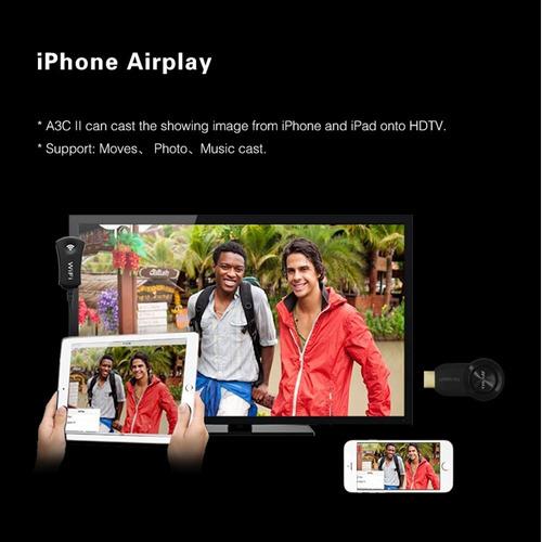 dongle wifi inalámbrico de hdmi de akface a 1080p reproducto