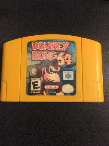 donkey kong 64 n64 - nintendo 64 envio gratis