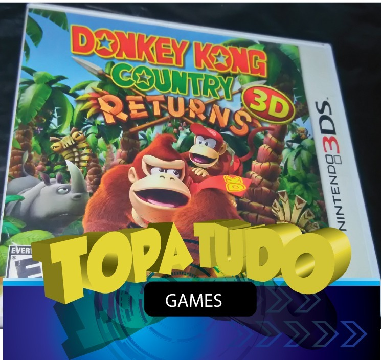 Donkey Kong Country 3d Returns Nintendo 3ds Seminovo Loja Bh - R  80 ... 67406222df2