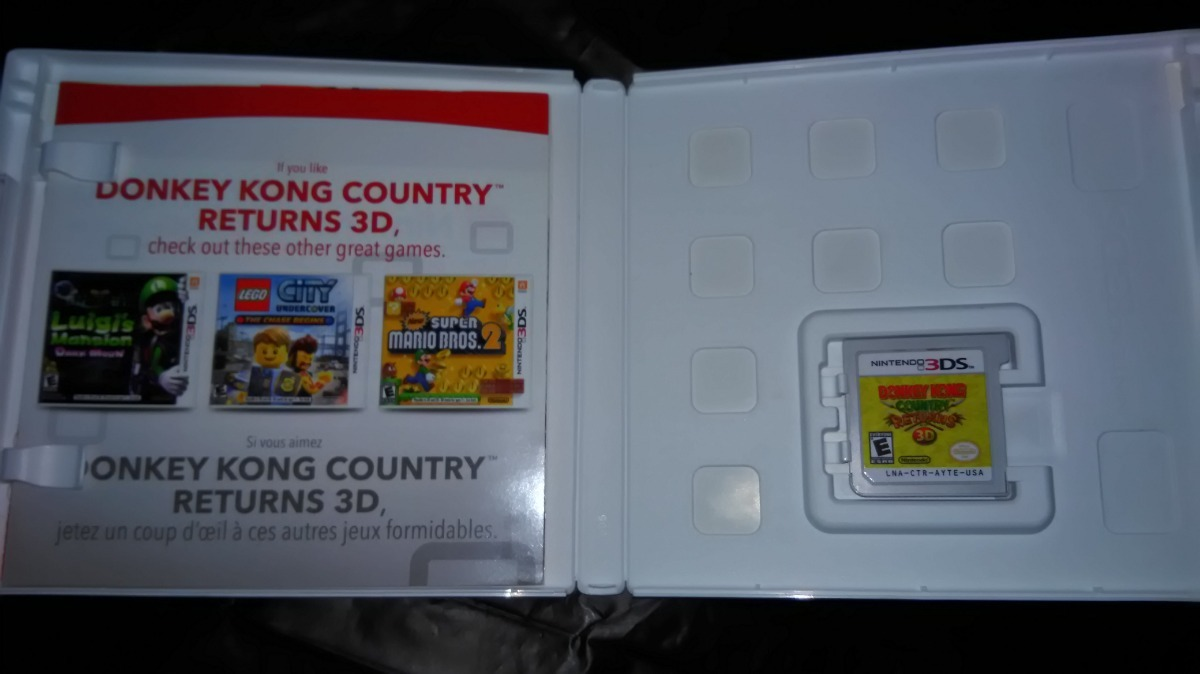 donkey kong country 3d returns nintendo 3ds seminovo loja bh. Carregando  zoom. d778565b65c
