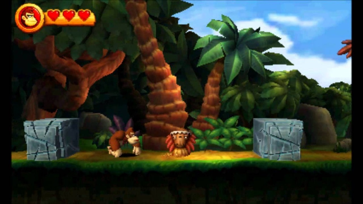 donkey kong country returns sem capa seminovo nintendo 3ds. Carregando zoom. 32e4ba80bbc