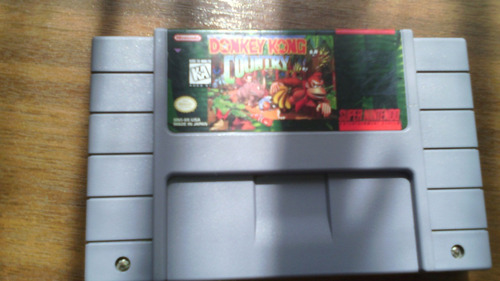 donkey kong country snes.-