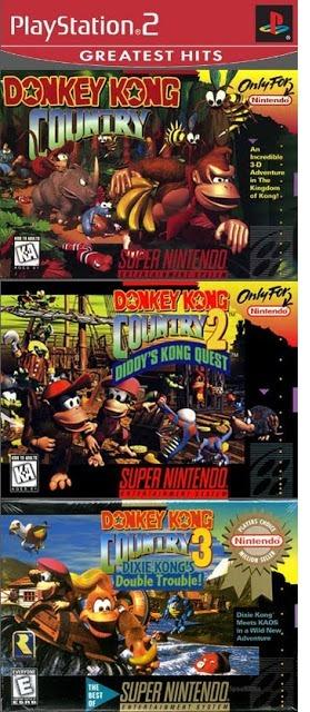 jogo donkey kong country trilogy ps2