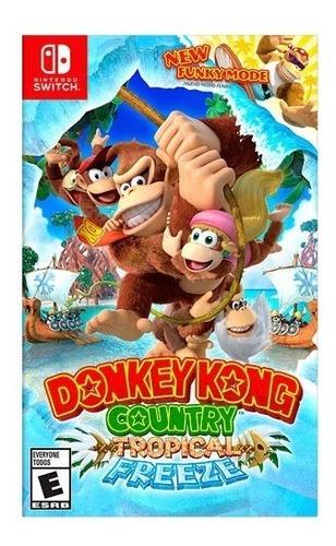 donkey kong country tropical freeze nintendo switch