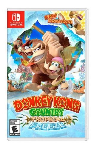 donkey kong country tropical freeze nintendo switch fisico