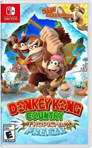 donkey kong country tropical freeze - nintendo switch id