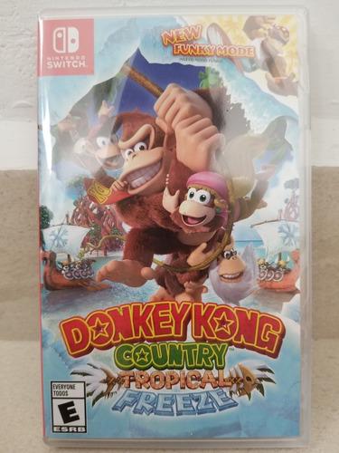 donkey kong country tropical freeze nintendo switch nuevo