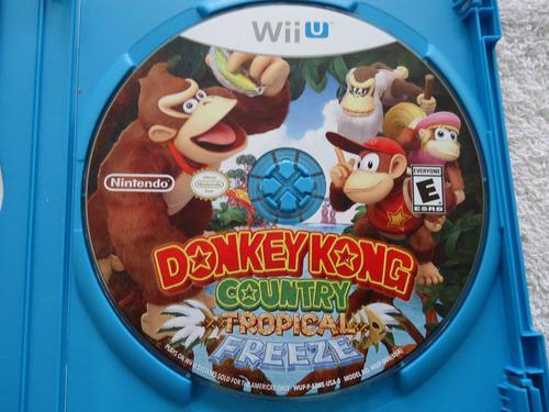 donkey kong country tropical freeze nintendo wii y wii u