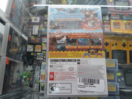 donkey kong country tropical freeze para nintendo switch