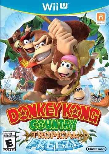 donkey kong dk country tropical freeze wii u