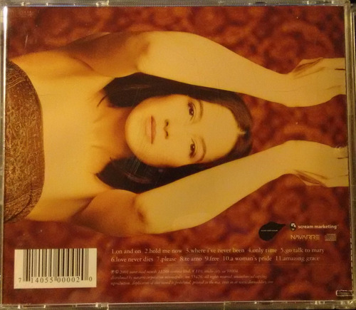 donna de lory - bliss  - import cd 2001, u.s.
