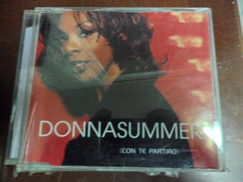 donna summer cd i will go with you (con te partiro)