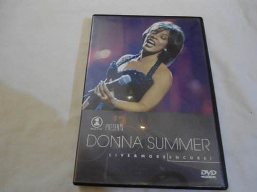 donna summer - live & more encore! dvd