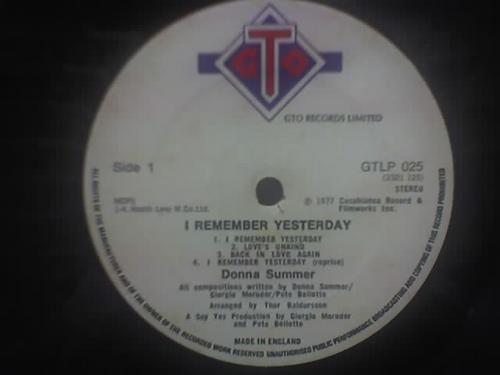 donna summer -lp-vinil-remember yesterday-samba-rock-dance