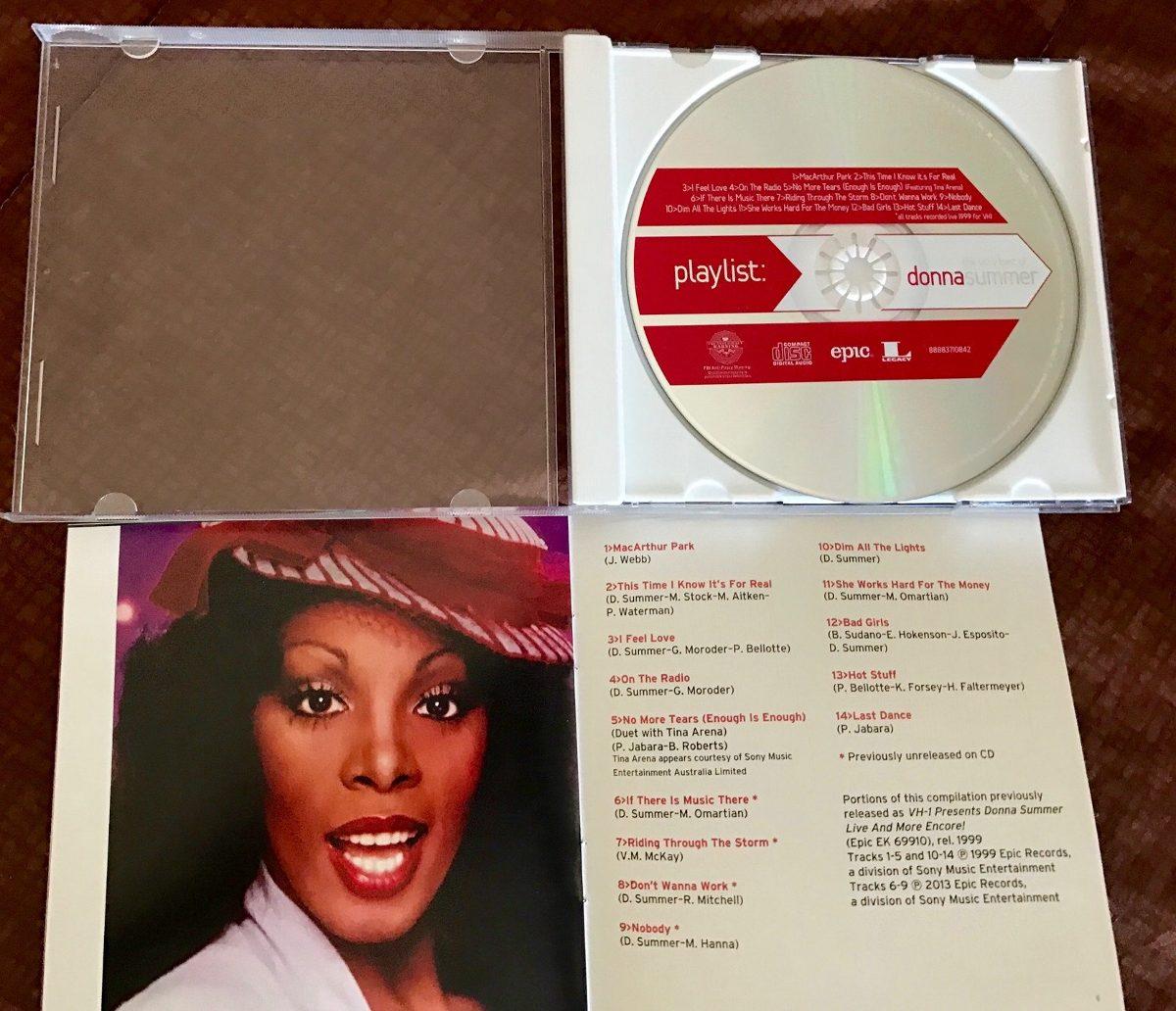 Donna Summer Playlist (edición Importada) - $ 149 90