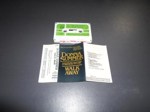 donna summer - walk away * cassette