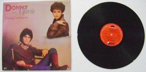 donny and marie / winning combination  1 disco lp vinil