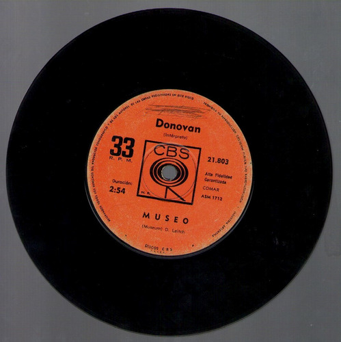 donovan - vinilo simple - there is a mountain/museum