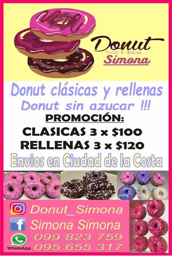 donuts por encargue y para cumpleaños