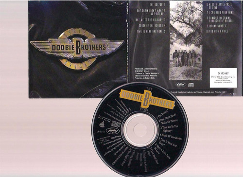doobie brothers - cycles - cd - by maceo