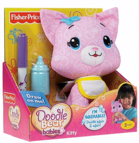 doodle bear perro para colorear lavar, colorear fisher price
