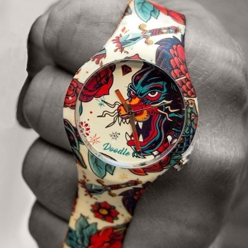 doodle watch dota001- panter old school- tattoo