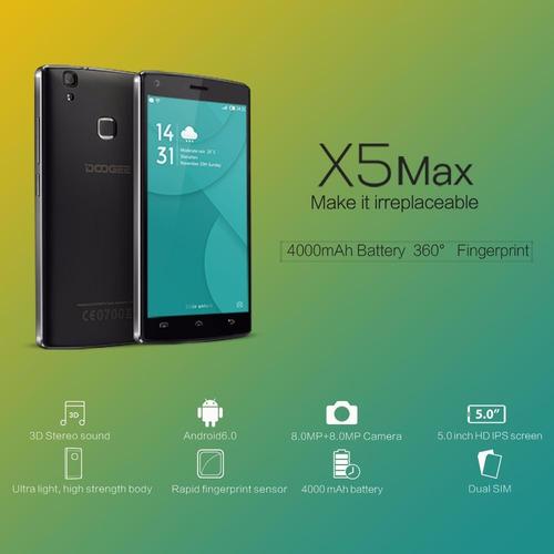 doogee x5 max pro lector huella 2ram 16 rom.