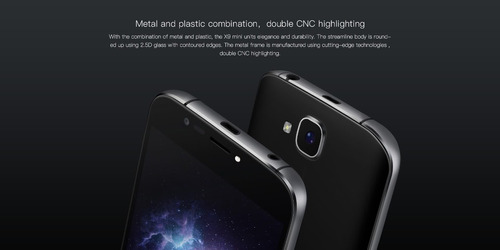 doogee x9 mini dual sim 8gb lector huella cam 5mpx 5 pulgds