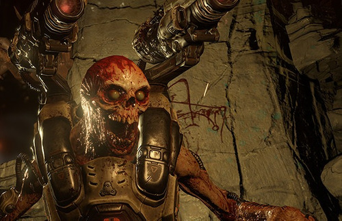 doom 2016 steam pc chave oficial dublado br + demon pack