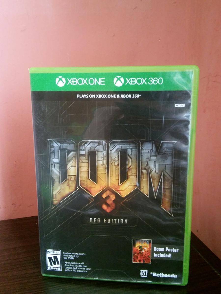 Doom 3 Bfg Edition Para Xbox 360 / One Incluye Poster
