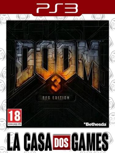 doom 3 - bfg edition - psn ps3 - envio imediato