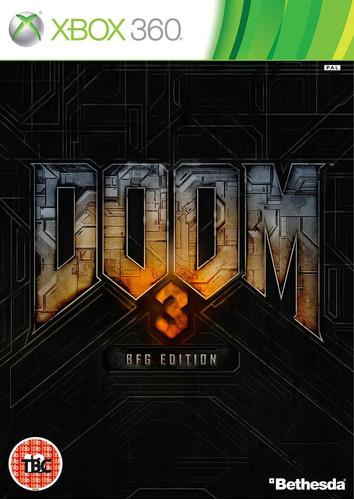 doom 3 bfg edition xbox 360 nuevo, sellado