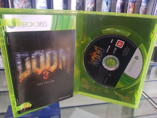 doom 3 usado original usa xbox 360 midia fisica.
