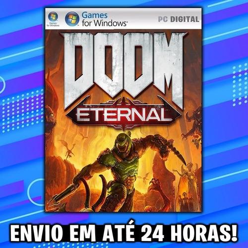 doom eternal - pc mídia digital