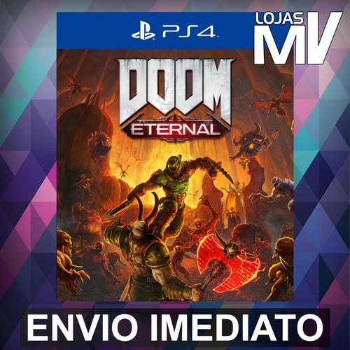 doom eternal standard -  ps4 playstation 4 código 12 dígitos