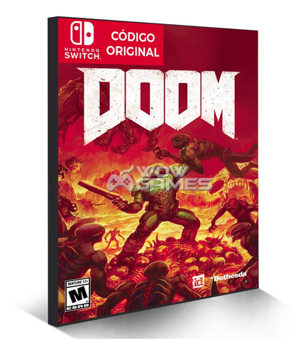 doom - nintendo switch código eshop