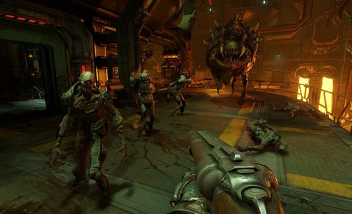 doom ps4. entrega inmediata. domicilios